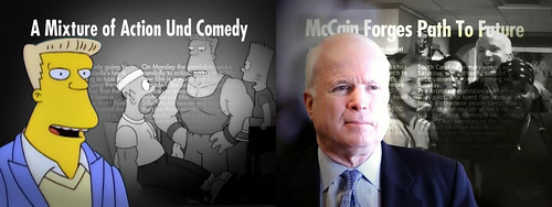 McBain / McCain Und Comedy Comparison