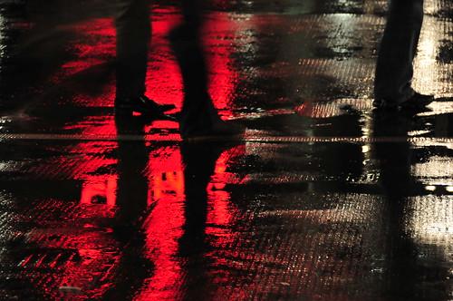 Wet ground
