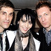 Perry Farrell & Joan Jett & Keanan Duffty @ the John Varvatos opening party where CBGB used to be