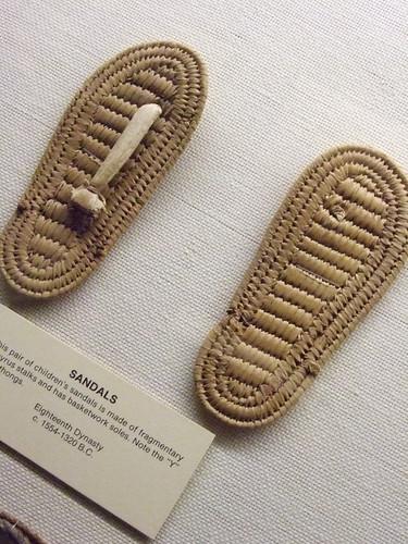 california shoes san sandals jose egypt footwear papyrus 18thdynasty rosicrucianegyptianmuseum mharrsch