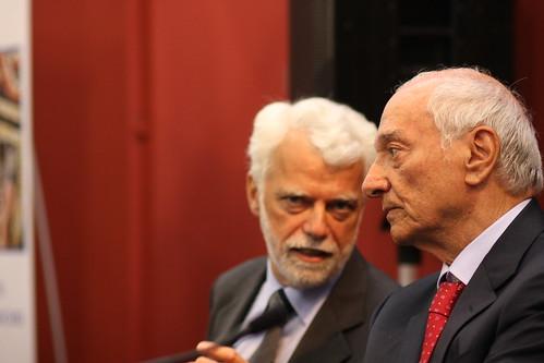 Paco Lanciano e Piero Angela