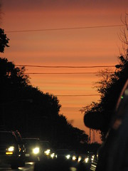 8pm sunset (Mizzezpeel) Tags: sunset chicago urbannature