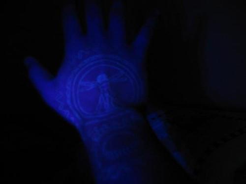 Blacklight Tattoo. Blacklight