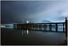 Light Up My Night (Extra Medium) Tags: light reflection beautiful night clouds pier washington awesome tacoma