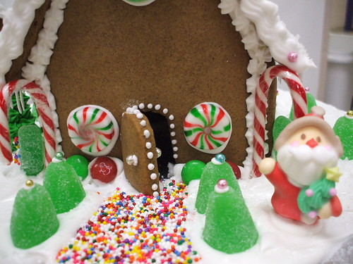 simple little gingerbread house by marian tatyana.