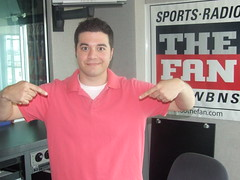 Ricordat's Pink Shirt (971 The Fan) Tags: show columbus ohio sports radio fan am state osu midday ohiostate ricordati 1460 wbns 1460thefan wbnsam torgy