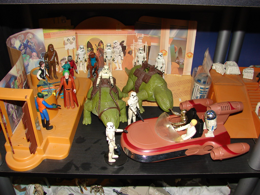 My Vintage Star Wars 1977-1984 Kenner Toy Collection 010