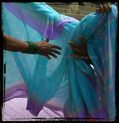 Hands of Grace (designldg) Tags: people woman india colours fabric varanasi sari benaras femininity uttarpradesh  articulateimages hourofthesoul