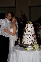 CAKE!!!! (rainvt) Tags: wedding seth erica