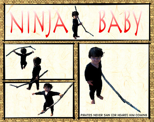 Ninja baby comic