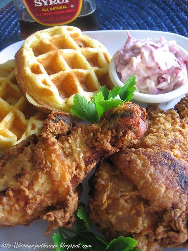 Southern Fried Chicken with Waffles