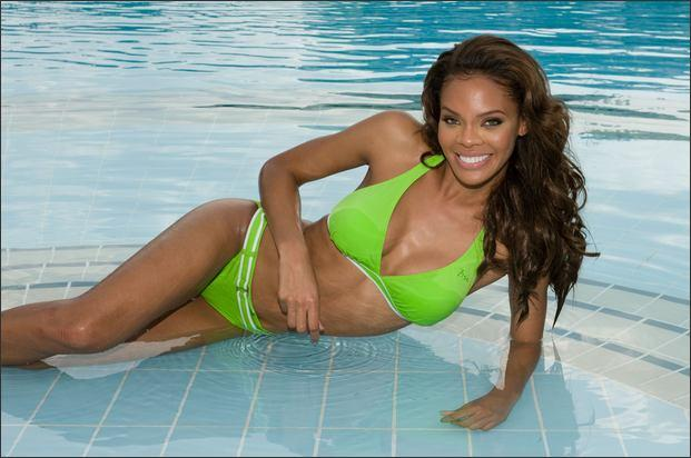 Miss USA en bikini Miss Universo 2008