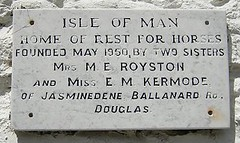Rest Home for Old Horses plaque