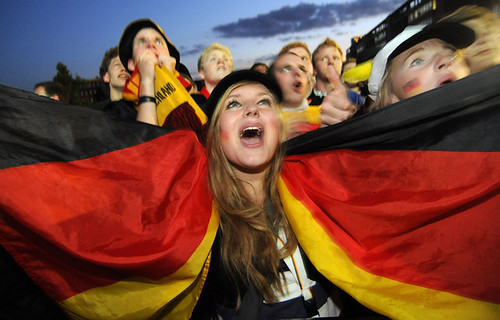 German fans in Cologne