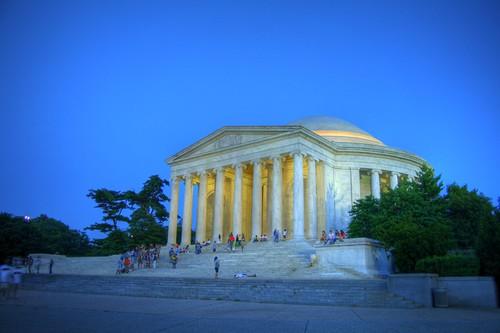 Jefferson Memorial at Night