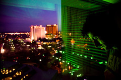 Viva (TGKW) Tags: city las vegas portrait people man window skyline night buildings ian lights hotel bokeh grand nightlife mgm
