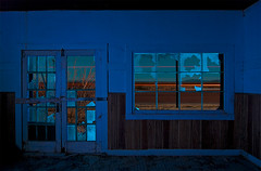 Salt Flat Blues (Noel Kerns) Tags: abandoned station night texas flat salt diner gas texaco