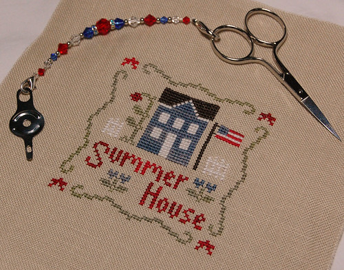 "Little House Needleworks ""Summer House"" Freebie"