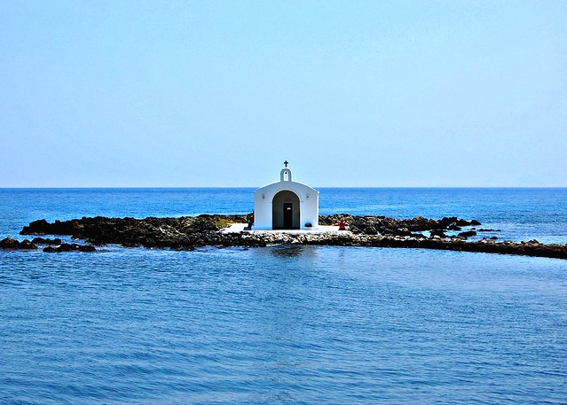 St. Nicholas chapel at Georgioupolis on the Greek island of Crete