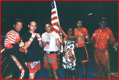 U.S. Kickboxing Team, Tahiti, 1997