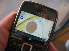 Nokia E71 – GPS v praksi