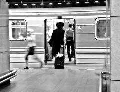 (Monia Sbreni) Tags: blackandwhite bw underground noiretblanc metro praha praga bn metropolitana bianconero biancoenero pargue reportase