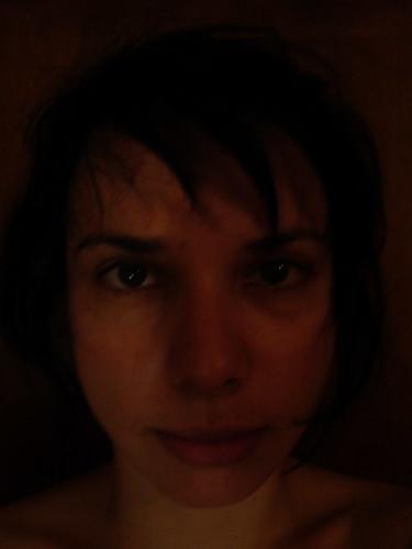 autoportret s mrakom