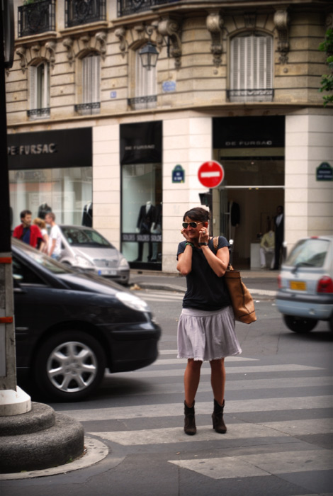 fille boulevard saint germain