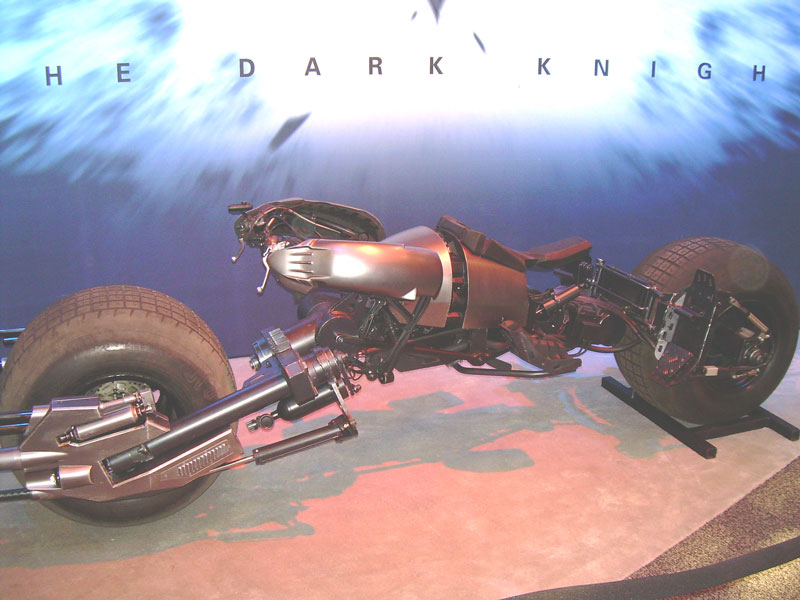 Imagem Moto ou Batcycle do Batman