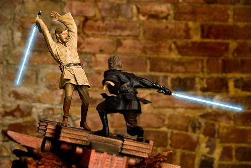 Star Wars Anakin Vs Obi Wan. Anakin vs. Obi-wan Diorama