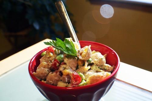 goddess pasta salad.