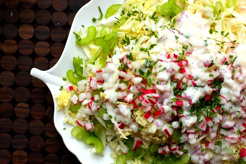 napa salad with buttermilk dressing