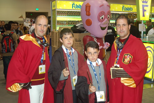 Comic Con 2008: Gryffindor Students