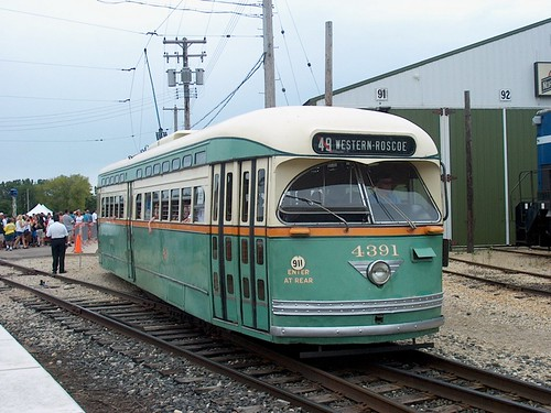 Chicago Transit Authority PCC streetcar # 4391. by Eddie from Chicago