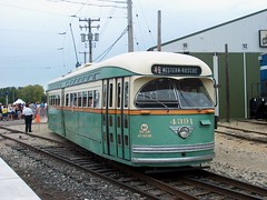 Chicago Transit Authority PCC streetcar # 4391.