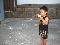 Bubble blower!