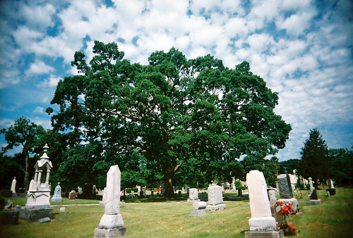 Pine Grove Cemetary by kevin dooley, on Flickr