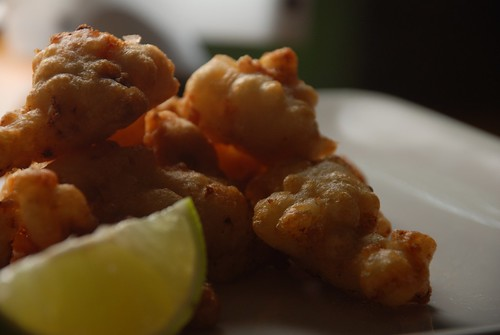 kthread cooks: conch fritters