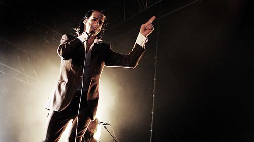 Nick Cave/Grinderman, Øyafestivalen 2008