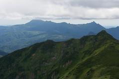 ポントナシベツ岳と夕張岳