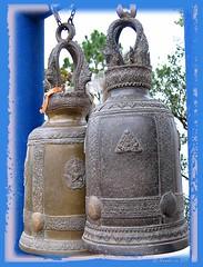 Bells - Phu Rua National Park (Ursula in Aus) Tags: bells thailand nationalpark buddhist buddhism isaan loei เลย phurua globalspirit ระฆัง earthasia