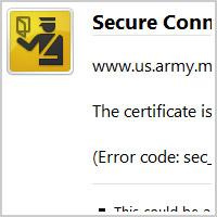 FF3 SSL error