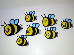 Beez: The Yard Youth Centre (Hammotime) Tags: graffiti mural bees youthcentre hammo heywood theyard hepatitisbee