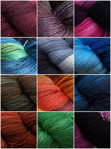 trunk show yarn mosaic