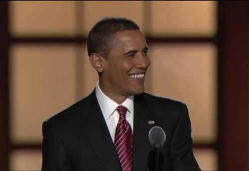 Barack Obama accepts the nomination by kightp.