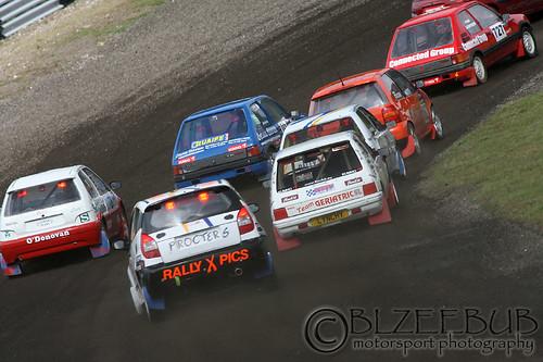 Kumho Tyres MSA British Rallycross Stock Hatch Race