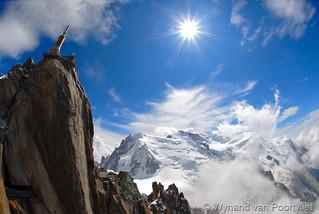 Aiguille du Midi (3842m) - Mt Blanc