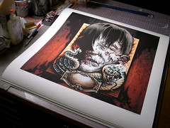 Punch In The Face Giclee