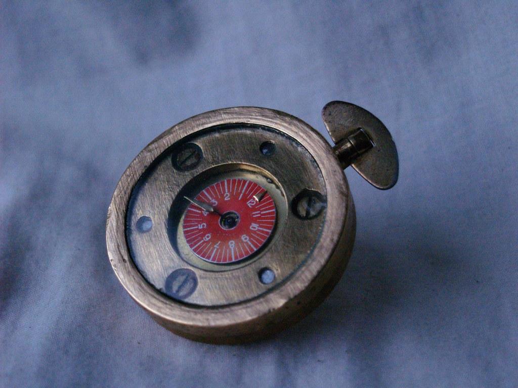 Bespoke Watch - 'Door Watch' - Industrial/Steampunk - Full