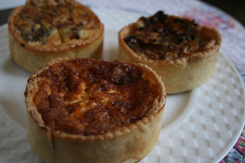 Three kinds of Quiche of Bay Bread